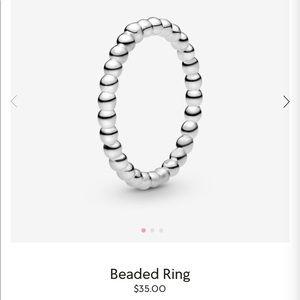 Beaded ring from Pandora!